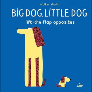 Big Dog Little Dog: Lift-the-Flap Opposites - Walker Books 9781406379495