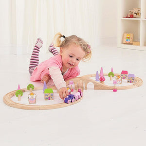 Bigjigs Fairy Figure of Eight Train Set - Rail 691621090220