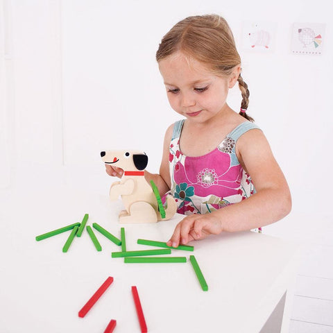 Image of Bigjigs Stack a Stick Game - Toys 691621537961