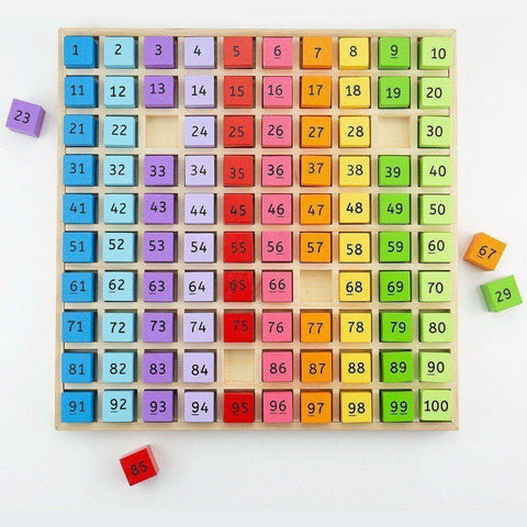 Image of Bigjigs Wooden Number Tray - Toys