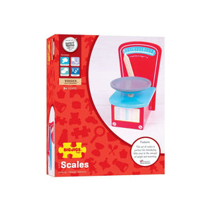 Bigjigs Wooden Play Scales - Toys