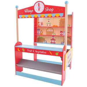 Bigjigs Wooden Village Shop - Toys 691621024881