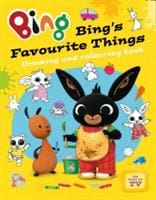Bing's Favourite Things drawing and colouring book - HarperCollins Publishers 9780007581047