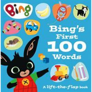 Bing's First 100 Words: A Lift-the-Flap Book - HarperCollins Publishers 9780008298364