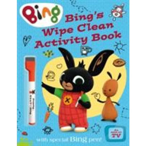 Bing's Wipe Clean Activity Book - HarperCollins Publishers 9780008122201