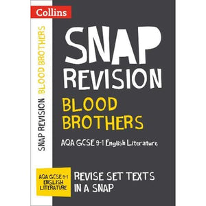 Blood Brothers: New Grade 9-1 GCSE English Literature AQA Text Guide - HarperCollins Publishers 9780008306625