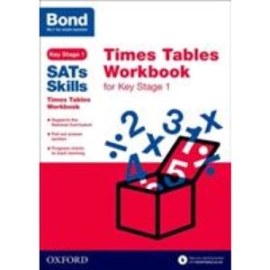 Bond SATs Skills: Times Tables Workbook for Key Stage 1 - Oxford University Press 9780192745675