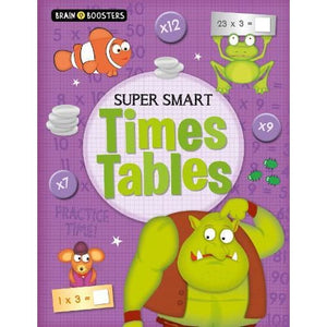 Brain Boosters: Super-Smart Times Tables - Arcturus Publishing 9781789503036
