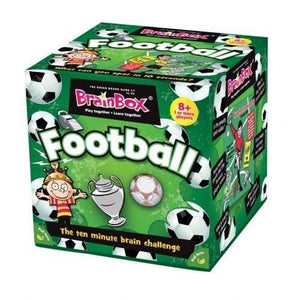 Brainbox Football - Green Board Games