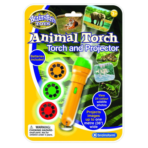 Image of Brainstorm Toys Animal Torch and Projector - 5060122731379