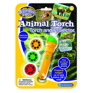 Brainstorm Toys Animal Torch and Projector - 5060122731379
