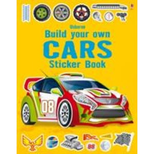 Build Your Own Car Sticker Book - Usborne Books 9781409555384