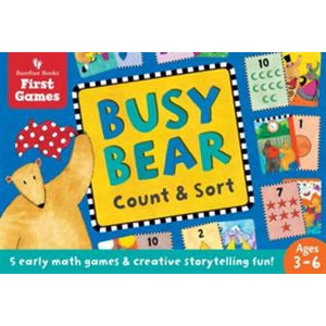 Busy Bear Count and Sort Game - Barefoot Books 9781782854302