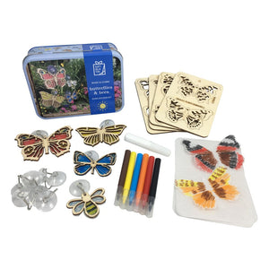 Butterflies & Bees Suncatcher Kit Gifts in a Tin - Apples to Pears 5050588010064