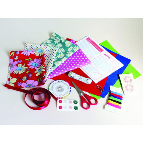 Image of Buttonbag Learn How to Sew Suitcase - Sewing Kits 5060304350312