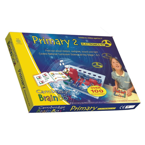 Image of Cambridge Brainbox Primary 2 Electronics Kit - 5060064380376