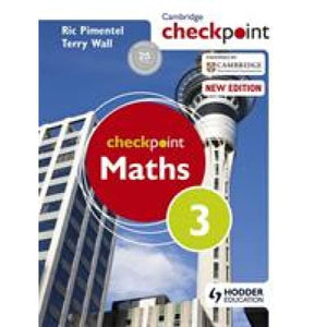 Cambridge Checkpoint Maths Student's Book 3 - Hodder Education 9781444143997