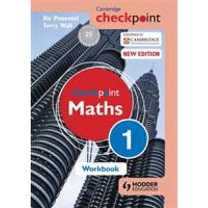 Cambridge Checkpoint Maths Workbook 1 - Hodder Education 9781444144017