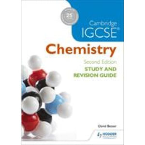 Cambridge IGCSE Chemistry Study and Revision Guide - Hodder Education 9781471894602