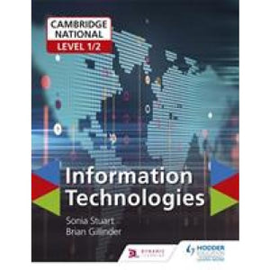 Cambridge National Level 1/2 Certificate in Information Technologies - Hodder Education 9781510423275