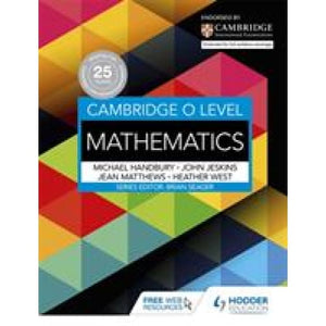 Cambridge O Level Mathematics - Hodder Education 9781471859625