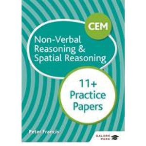 CEM 11+ Non-Verbal Reasoning & Spatial Practice Papers - Hodder Education 9781510449749