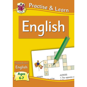 CGP Practise & Learn: English (Ages 6-7) - Books