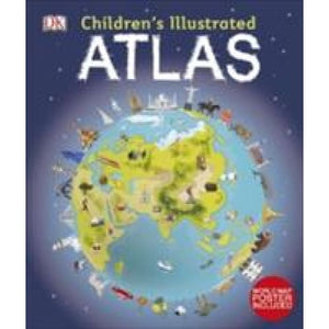 Childrens Illustrated Atlas - Dorling Kindersley