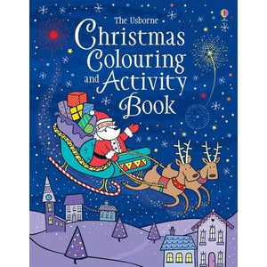 Christmas Colouring and Activity Book - Usborne Books 9781409555650