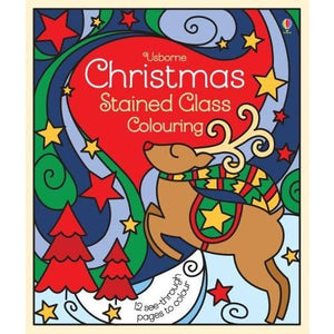 Christmas Stained Glass Colouring - Usborne Books