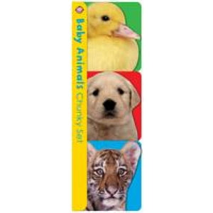 Chunky Baby Animals - Priddy Books 9781783416998