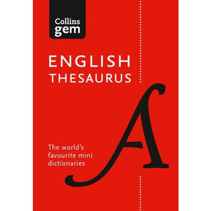 Collins English Gem Thesaurus: The World's Favourite Mini - HarperCollins Publishers 9780008141691