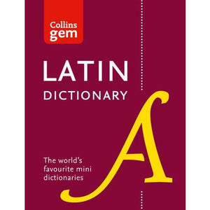 Collins Latin Gem Dictionary - HarperCollins Publishers 9780008218614
