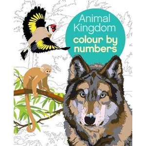 Colour by Numbers: Animal Kingdom - Arcturus Publishing 9781784283841