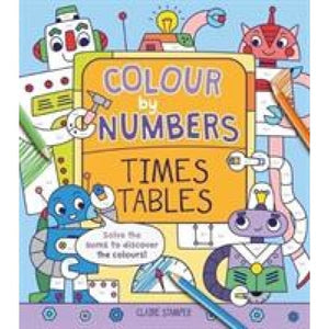 Colour by Numbers: Times Tables - Arcturus Publishing 9781788285155