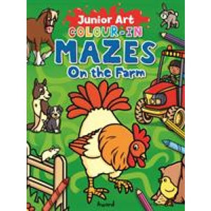 Colour-In Mazes on the Farm - Award Publications 9781782702061