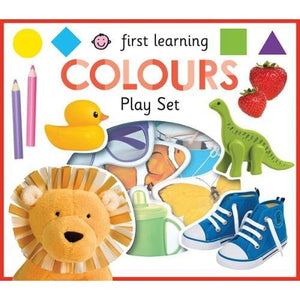 Colours: First Learning Play Sets - Priddy Books 9781783415311