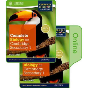 Complete Biology for Cambridge Lower Secondary: Print and Online Student Book - Oxford University Press 9780198379515