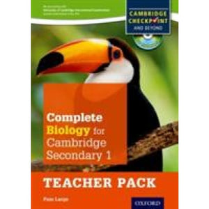Complete Biology for Cambridge Lower Secondary Teacher Pack: For Checkpoint and beyond - Oxford University Press 9780198390237