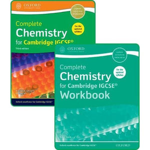 Complete Chemistry for Cambridge IGCSE (R) Student Book and Workbook Pack - Oxford University Press 9780198409854