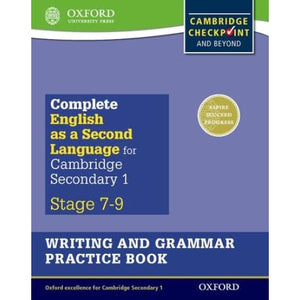 Complete English as a Second Language for Cambridge Lower Secondary Writing and Grammar Practice Book - Oxford University Press