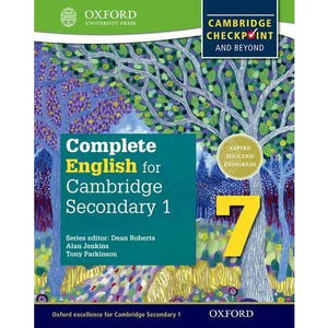 Complete English for Cambridge Lower Secondary 7: Checkpoint and beyond - Oxford University Press 9780198364658
