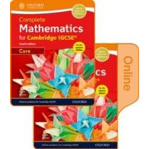 Complete Mathematics for Cambridge IGCSE (R) Print & Online Student Book (Core) - Oxford University Press 9780198415442