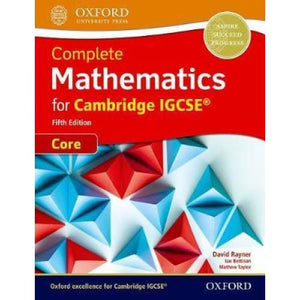 Complete Mathematics for Cambridge IGCSE (R) Student Book (Core) - Oxford University Press 9780198425045