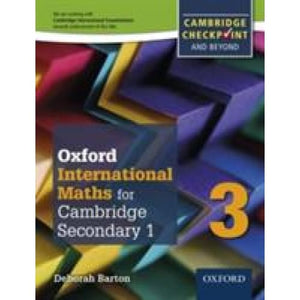 Complete Mathematics for Cambridge Lower Secondary 3: Checkpoint and beyond - Oxford University Press 9780199137107