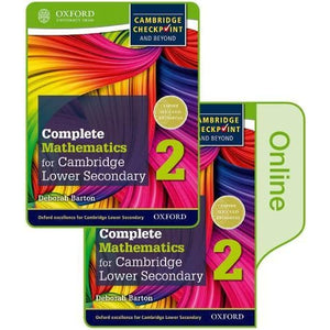 Complete Mathematics for Cambridge Lower Secondary Book 2: Online Student - Oxford University Press 9780198379652