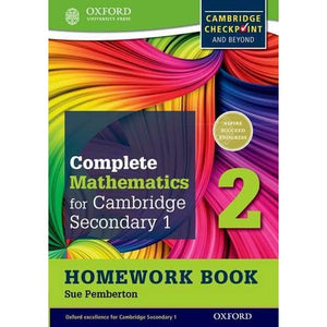 Complete Mathematics for Cambridge Lower Secondary Homework Book 2 (Pack of 15): For Checkpoint and beyond - Oxford University Press