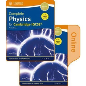 Complete Physics for Cambridge IGCSE (R) Print and Online Student Book Pack - Oxford University Press 9780198417675