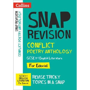 Conflict Poetry Anthology: New GCSE Grade 9-1 Edexcel English Literature - HarperCollins Publishers 9780008353063
