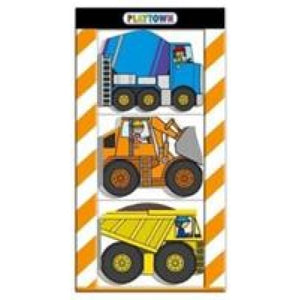 Construction Chunky Set: Playtown - Priddy Books 9781783415410